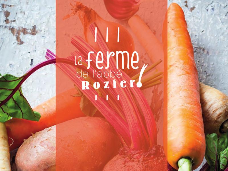 Légumes bio de la ferme de l'Abbé Rozier