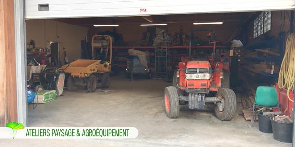 Ateliers paysage et agroéquipement