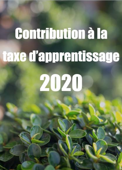 Contribution à la taxe d'apprentissage 2020